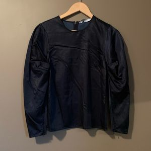 NWT & Other stories navy blouse